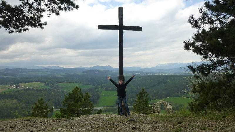 Tuerkensturz Türkensturz Gipfelkreuz Aussicht Wandern Natur