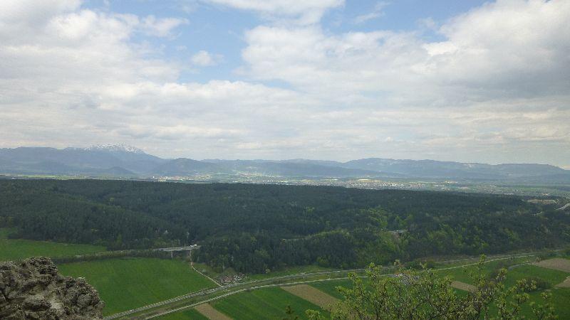 Tuerkensturz Türkensturz Wald Wandern Natur Aussicht Schneeberg Hohe Wand